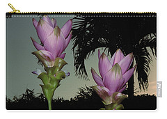 Curcuma Hybrid Flowers Carry-all Pouch by Greg Allore