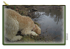 Curiosity Of A Puppy Carry-all Pouch