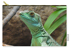 Carry-all Pouch featuring the photograph Curious Gaze by Lingfai Leung