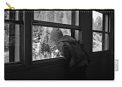 Carry-all Pouch featuring the photograph Curious by Jeremy Rhoades