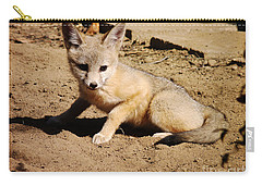Curious Kit Fox Carry-all Pouch