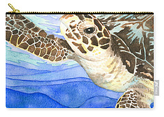 Curious Sea Turtle Carry-all Pouch