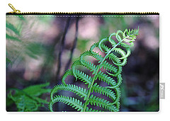 Carry-all Pouch featuring the photograph Curls by Debbie Oppermann