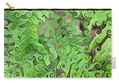 Curly Fronds Carry-all Pouch