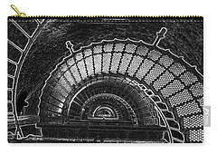 Carry-all Pouch featuring the photograph Currituck Lighthouse Stairs by Greg Reed