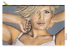 Curvy Beauties - Beautiful Blonde Carry-all Pouch
