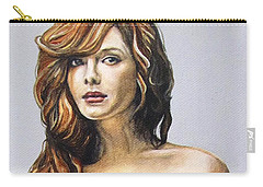 Curvy Beauties - Christina Hendricks Carry-all Pouch