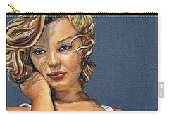 Curvy Beauties - Marilyn Monroe Carry-all Pouch