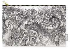 Custer's Clash Carry-all Pouch