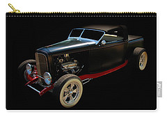 Classic Cars Carry-all Pouch featuring the photograph Custom Hot Rod by Aaron Berg