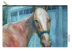 Custom Pet Portrait Painting - Original Artwork -  Horse - Dog - Cat - Bird Carry-all Pouch