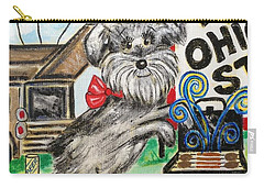 Osu Tailgating Dog Carry-all Pouch by Diane Pape