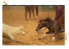 Cutting Horse 8 Carry-all Pouch by Lynn Sprowl