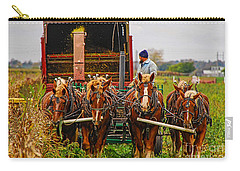 Cutting Silage 2 Carry-all Pouch