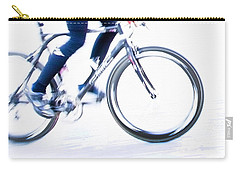 Cycling Carry-all Pouch by Theresa Tahara