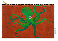 Cycloptopus Red Carry-all Pouch