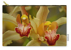 Cymbidium Twins Carry-all Pouch