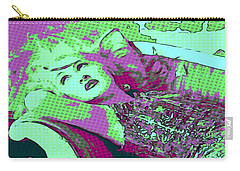 Cyndi Lauper Carry-all Pouch by Catherine Lott