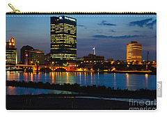 D12u152 Toledo Ohio Skyline Photo Carry-all Pouch
