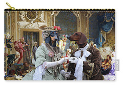 Dachshund Art - Royal Party Carry-all Pouch