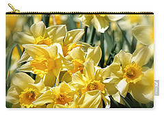 Daffodil Carry-all Pouch by Bill Wakeley