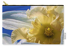 Daffodil In The Sun Carry-all Pouch by Bruce Bley