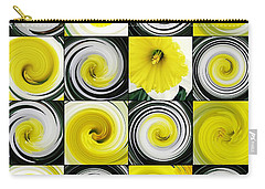 Daffodil Spring Mosaic Carry-all Pouch