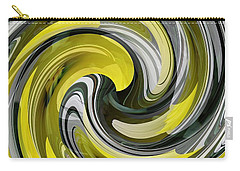 Daffodil Swirl Carry-all Pouch