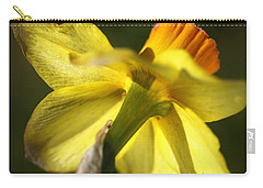 Carry-all Pouch featuring the photograph Daffodils Grace by Joy Watson