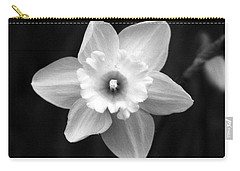 Daffodils - Infrared 01 Carry-all Pouch by Pamela Critchlow