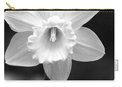 Daffodils - Infrared 10 Carry-all Pouch by Pamela Critchlow