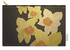 Daffodils Carry-all Pouch by Terry Frederick
