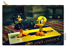 Daffy Tweety And Johnny Carry-all Pouch
