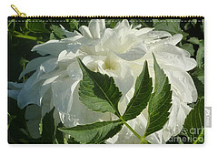 Carry-all Pouch featuring the photograph Dahlia Delicate Dancer by Susan Garren