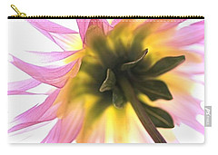 Dahlia Flower Carry-all Pouch by Joy Watson
