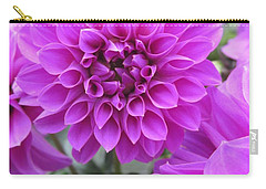 Dahlia In Pink Carry-all Pouch