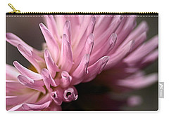Carry-all Pouch featuring the photograph Dahlia by Joy Watson