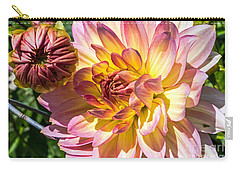 Carry-all Pouch featuring the photograph Dahlia by Kate Brown