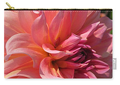 Dahlia Named Fire Magic Carry-all Pouch by J McCombie