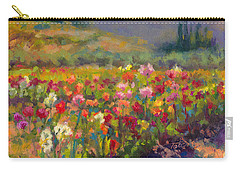 Dahlia Row Carry-all Pouch