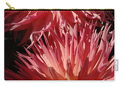 Carry-all Pouch featuring the photograph Dahlia Vi by Christiane Hellner-OBrien