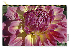 Carry-all Pouch featuring the photograph Dahlia Vii by Christiane Hellner-OBrien