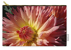 Carry-all Pouch featuring the photograph Dahlia Viii by Christiane Hellner-OBrien