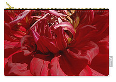 Carry-all Pouch featuring the photograph Dahlia Viiii by Christiane Hellner-OBrien