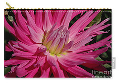 Carry-all Pouch featuring the photograph Dahlia X by Christiane Hellner-OBrien