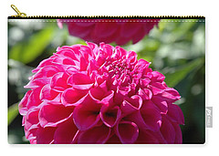 Carry-all Pouch featuring the photograph Dahlia Xi by Christiane Hellner-OBrien