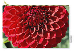 Carry-all Pouch featuring the photograph Dahlia Xii by Christiane Hellner-OBrien