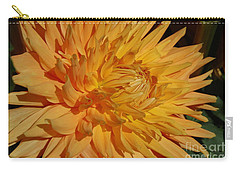 Carry-all Pouch featuring the photograph Dahlia Xiii by Christiane Hellner-OBrien