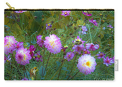 Dahlias And Cosmos  Carry-all Pouch