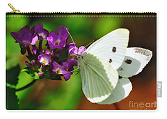 Dainty Butterfly Carry-all Pouch